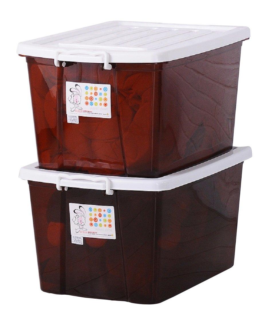 Citylong 禧天龙环保抗压收纳箱整理箱储物箱百纳箱超值2个装¥69.5