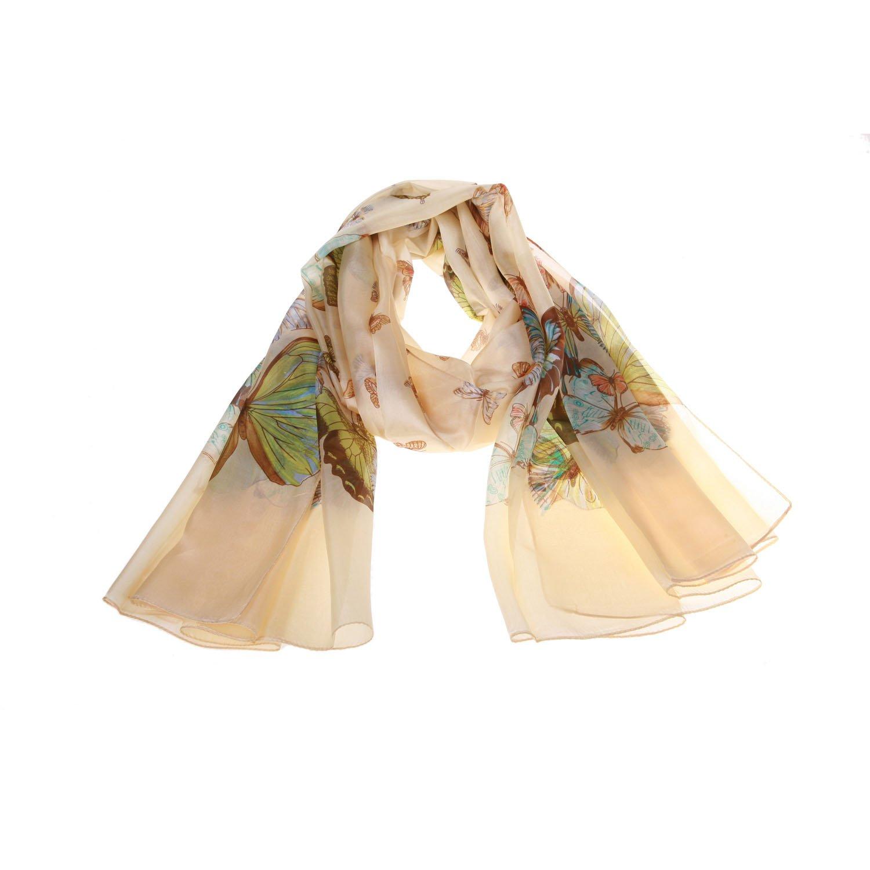 秀唯丝蚕丝蝴蝶系列16披肩真丝围巾丝巾旅游纪念品180
