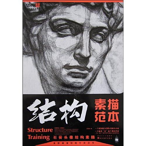 训练方法丛书 结构素描范本 石膏头像结构素描图片