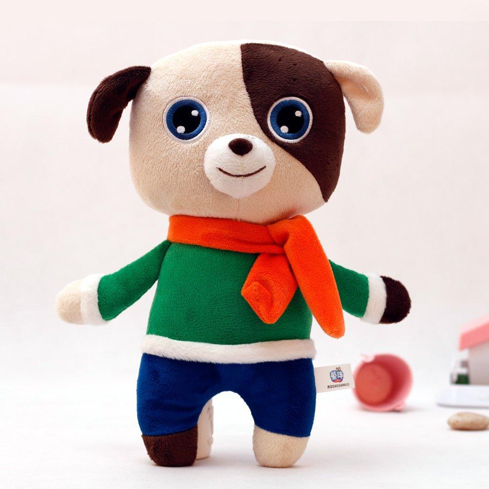 童伴 儿童玩具 毛绒娃娃 生肖狗 森林动物 亲款泰迪熊