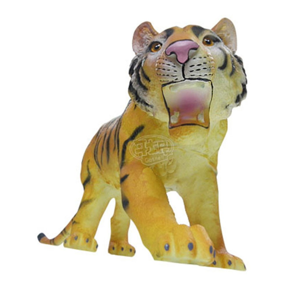 哥士尼 大尺寸老虎玩具 动物模型 造型逼真 动物摆件