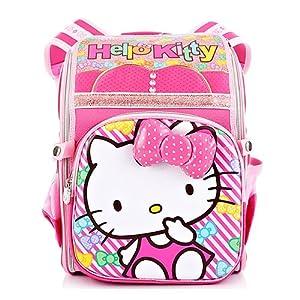 hello kitty 儿童减负书包 双肩背包 小学生女生书包图片