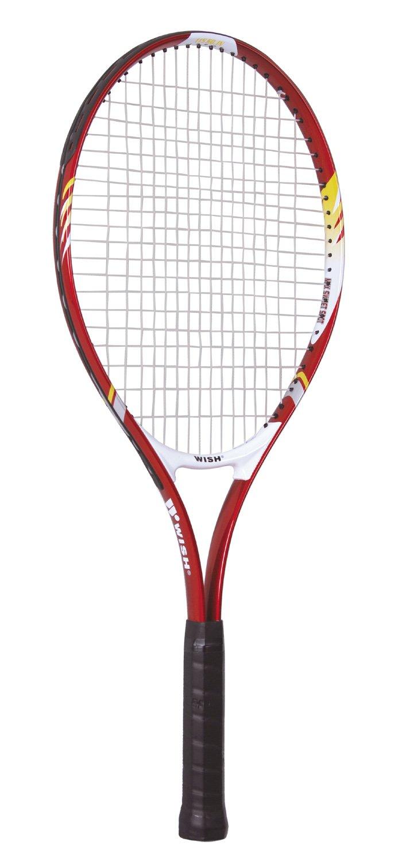 wish伟士红色铝合金网球拍已穿线alumtec2515中性美国足球宝贝图片