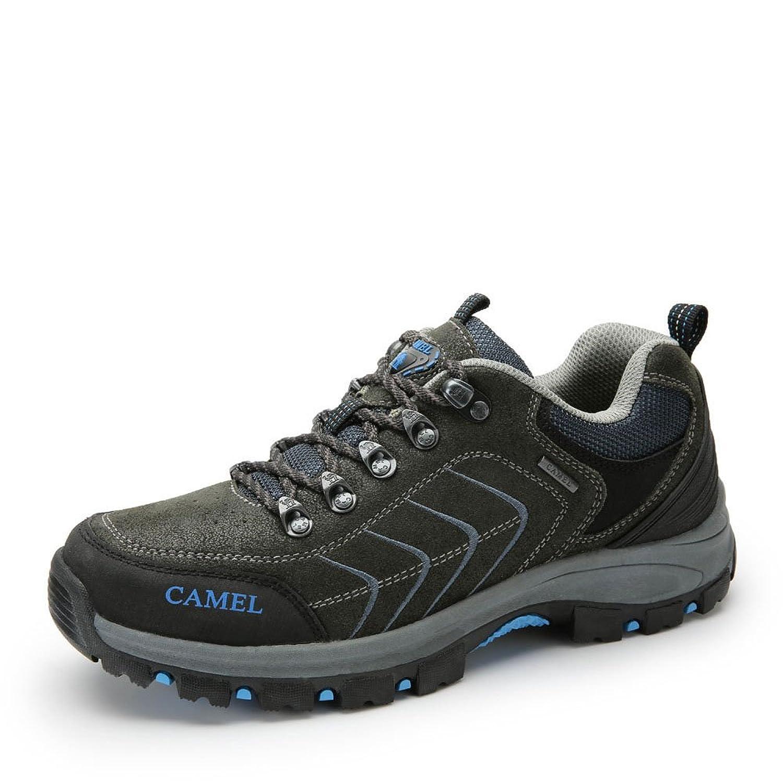 Camel 骆驼户外登山鞋 牛皮耐磨户外鞋子 2014秋季新款防滑男登山鞋 A432330015