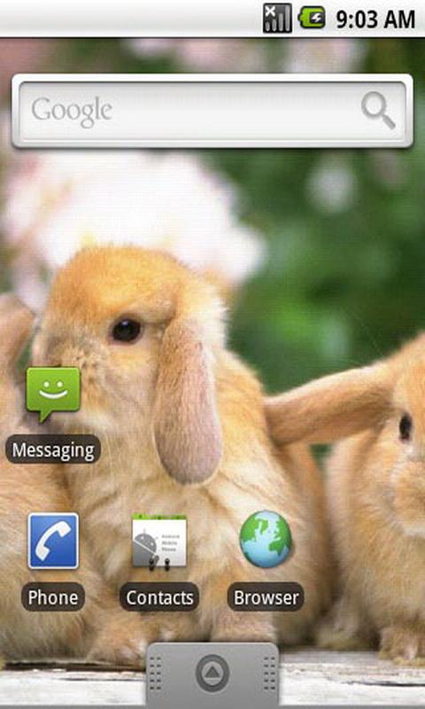 萌萌小兔子第二辑主题壁纸-亚马逊应用商店-亚马逊中国