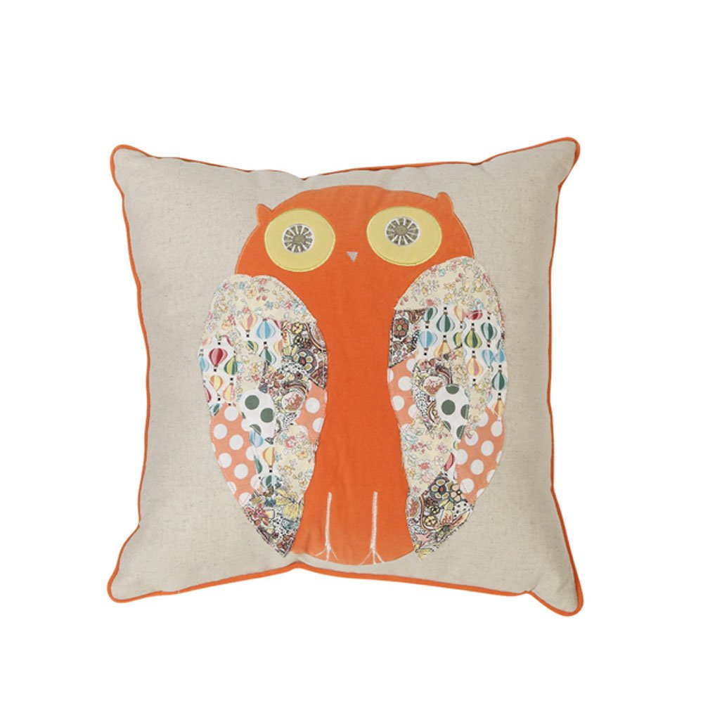 creative home 可立特 美式乡村棉麻天鹅绒抱枕 创意靠垫 沙发抱枕 ch图片