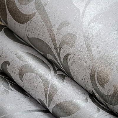 家装壁纸欧式电视背景墙纸壁纸卧室客厅无纺布