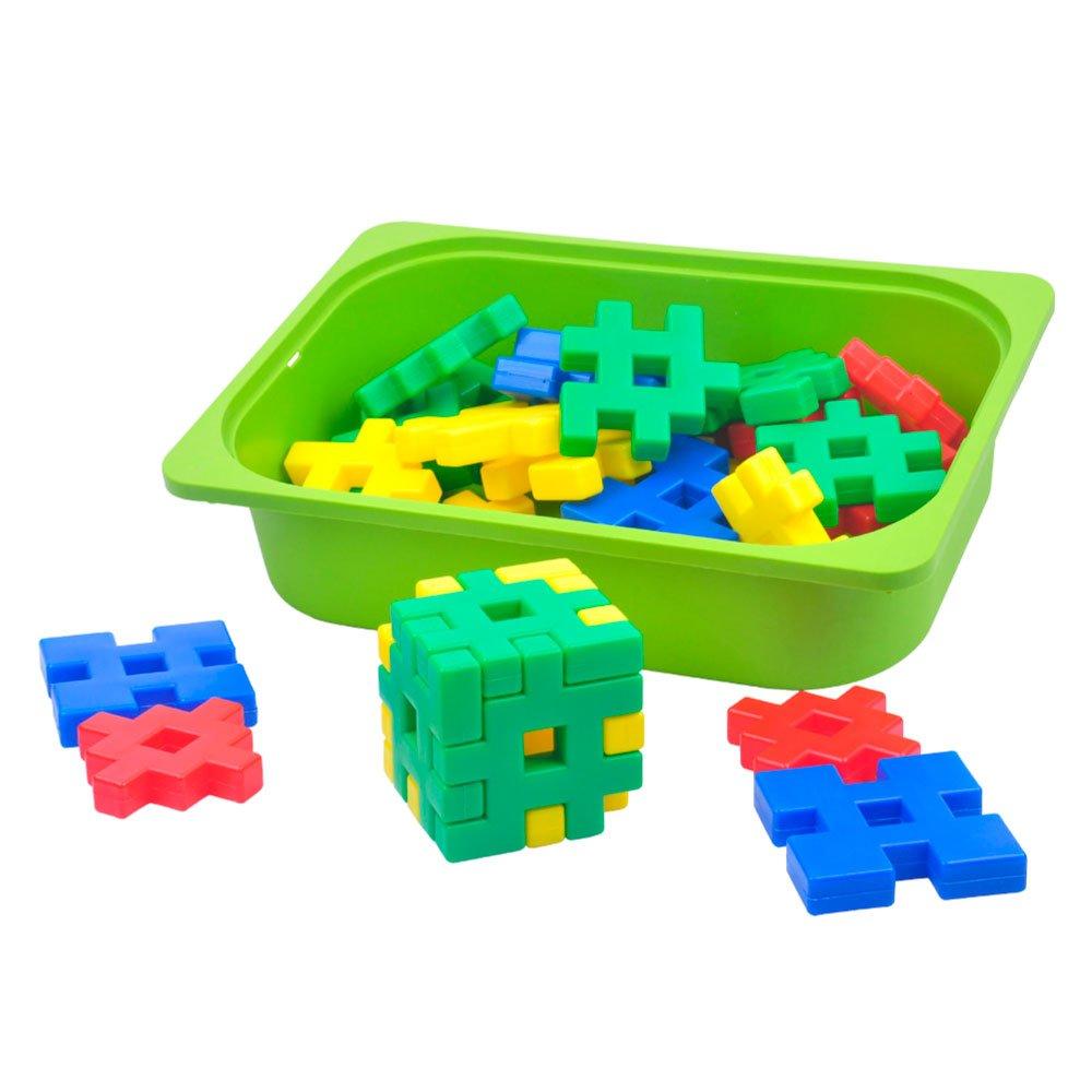 l 游思乐 幼教 玩具 幼儿园 益智 建构 拼插 积塑 大方块 积木 e10315