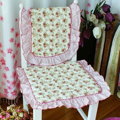 座垫 靠背套 浪漫玫瑰园图片图片