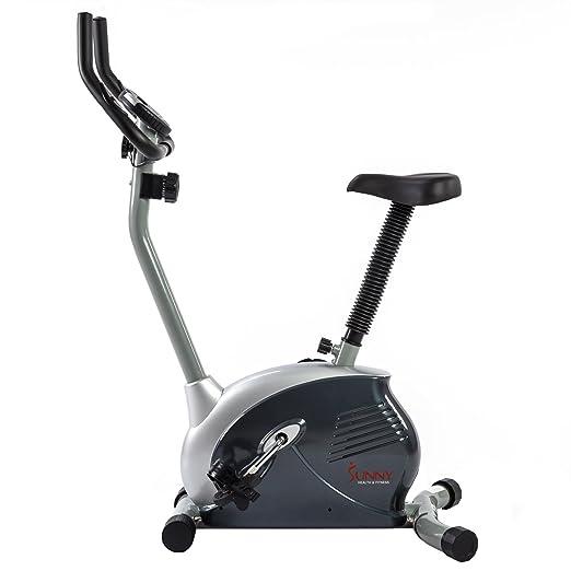 美国SUNNY HEALTH&FITNESS 家用坐式皮带静音磁控健身车 超静音动感单车 SF-B910 银色 969元