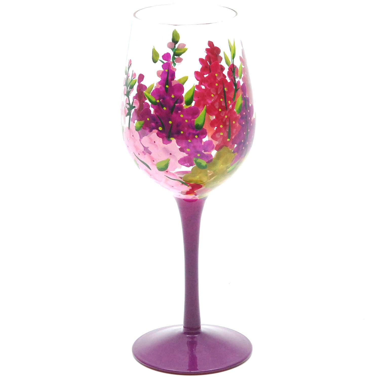 evergreen爱屋61格林4件套欧式彩色手绘艺术酒杯套组3cwg3418