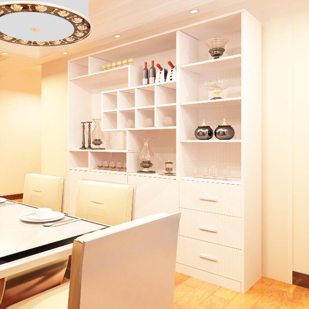【东彩】简约现代北京定做装饰柜酒柜板式储物柜 酒柜图片