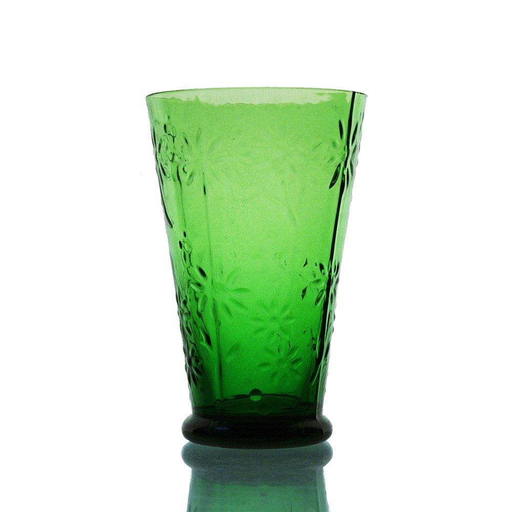 wuse 吾舍 太阳花 创意彩色玻璃水杯 饮料杯 果汁杯