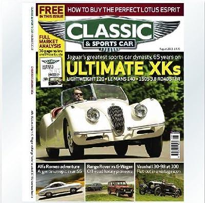 2014年进口年订杂志:classic & sportscar 经典汽车杂志全年订1277元包邮.pdf