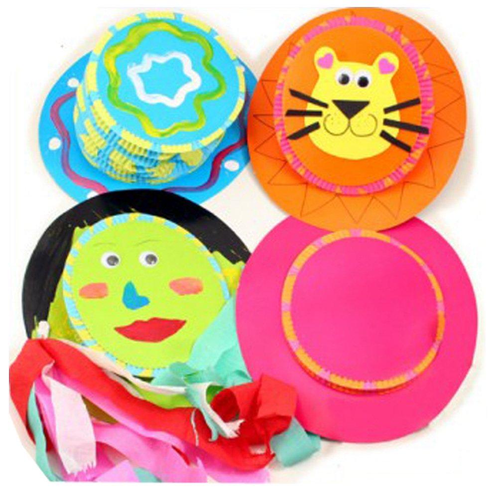 七色花 幼教幼儿园益智玩具diy手工美术创意粘贴画画材料魔法帽子图片