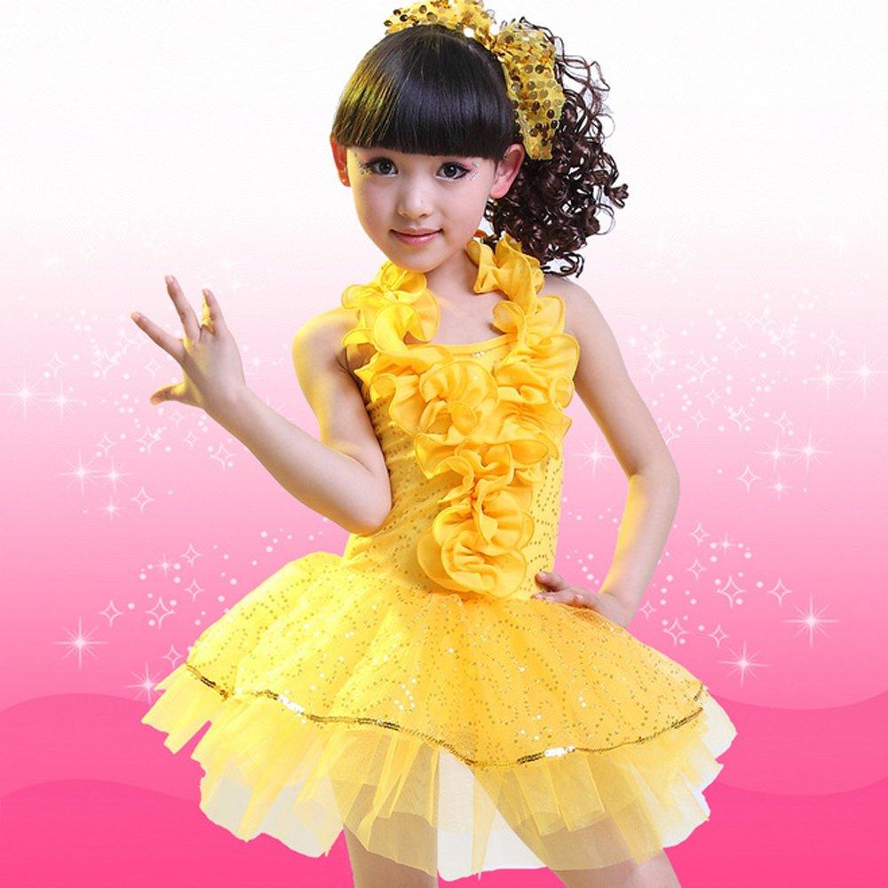 六一儿童节儿童演出服装舞蹈服女童公主裙纱裙