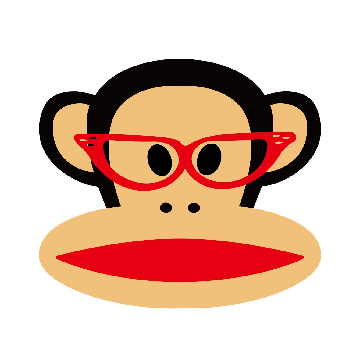 ky 卡艺 汽车贴纸 大嘴猴paulfrank 大嘴猴 头像 表情 搞笑可爱卡通