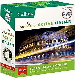 Livemocha Active Italian\/Merriam-Webster-图书