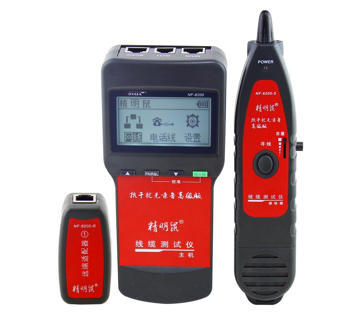 精明鼠 nf-8200 noyafa电话网络专用测试仪