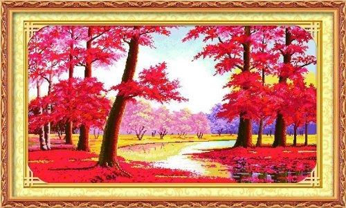 十字绣KS的鸿运当头 红树林 和黄金满地哪个更难绣图片