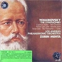 进口CD:柴可夫斯基:六首交响曲全集&罗密欧与朱丽叶&1812序曲