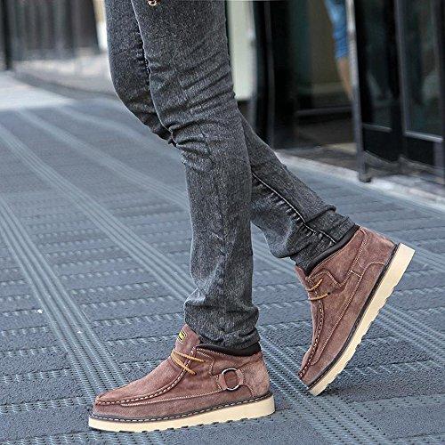 时尚 商务休闲男鞋英伦真皮鞋潮流中邦男板鞋正装牛皮鞋