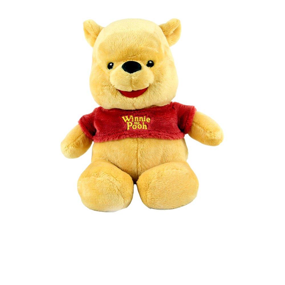 disney 迪士尼 暑假12寸q版小熊维尼毛绒公仔娃娃 儿童玩具礼品
