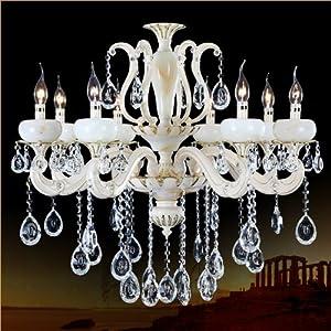 玉石水晶灯 欧式吊灯客厅灯具