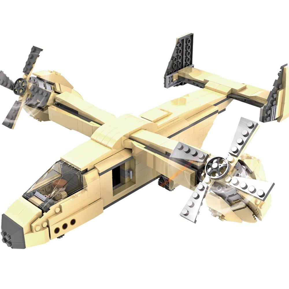 积高 儿童益智塑料拼装积木乐高式军事积木玩