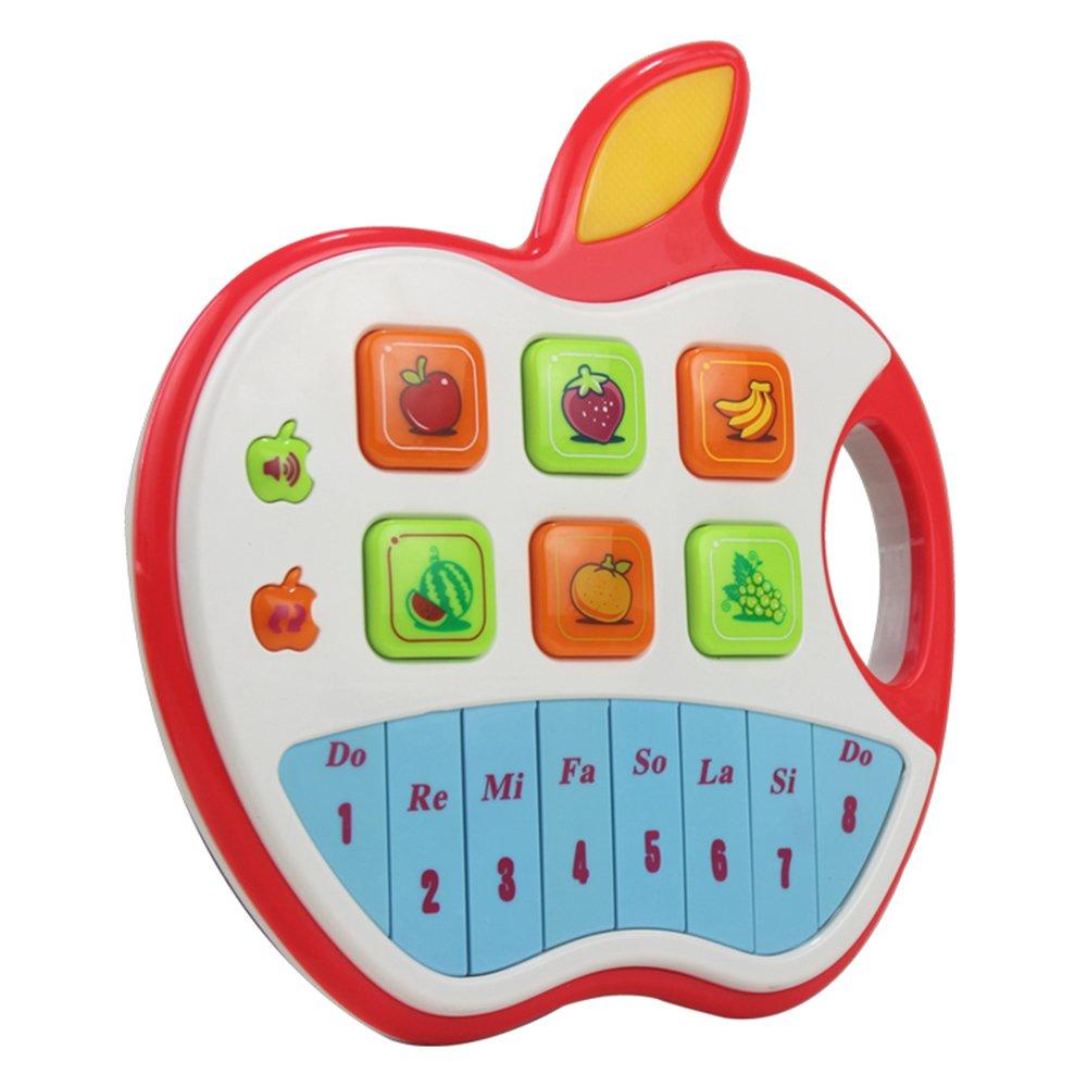 星空投影讲故事机宝宝益智弹奏电子琴学习机0-1岁小苹果5种模式切换图片