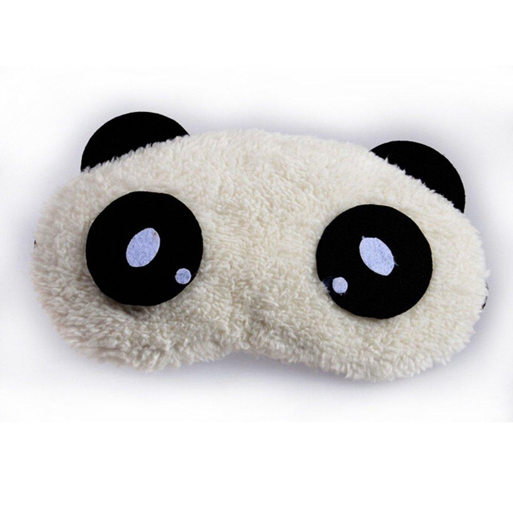 酷凯通 超萌卡通熊猫眼罩 冷敷热敷两用眼罩 睡眠遮光护眼罩 (萌萌哒)