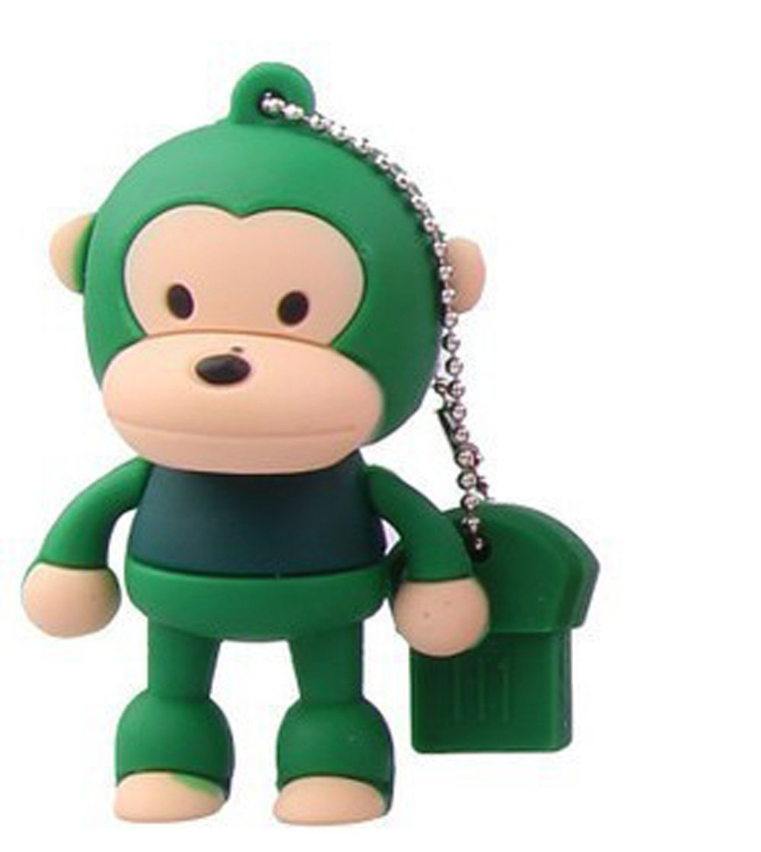 优渥-youwo 大嘴猴子优盘 迷你卡通优盘 卡通猴u盘 足容量优盘 (16gb