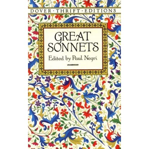 the american sonnet Chris baldick sonnet: a lyric poem comprising 14 rhyming lines of equal length: iambic pentameters in english, alexandrines in french, hendecasyllables in italianthe rhyme schemes of the sonnet follow two basic patterns.