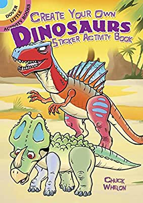 Create Your Own Dinosaurs Sticker Activity Book.pdf