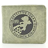 宅神动漫 名侦探柯南钱包 第11个前锋周边 男女短款皮钱夹Q229-图片