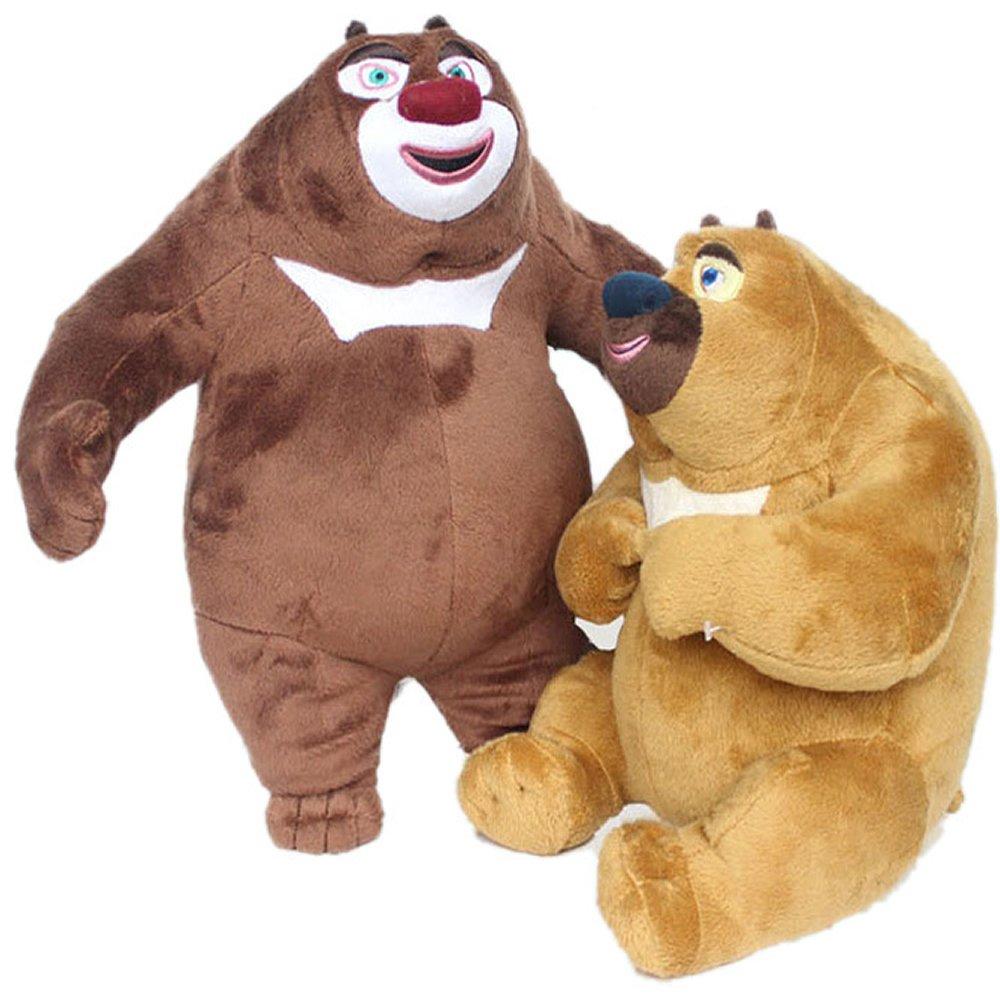 gtlo 哥特里奥 熊出没套装公仔 熊大 熊二 光头强 毛绒玩具 娃娃 (58