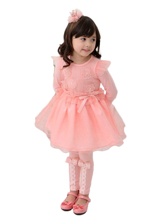 珍珠纱裙 儿童连衣裙