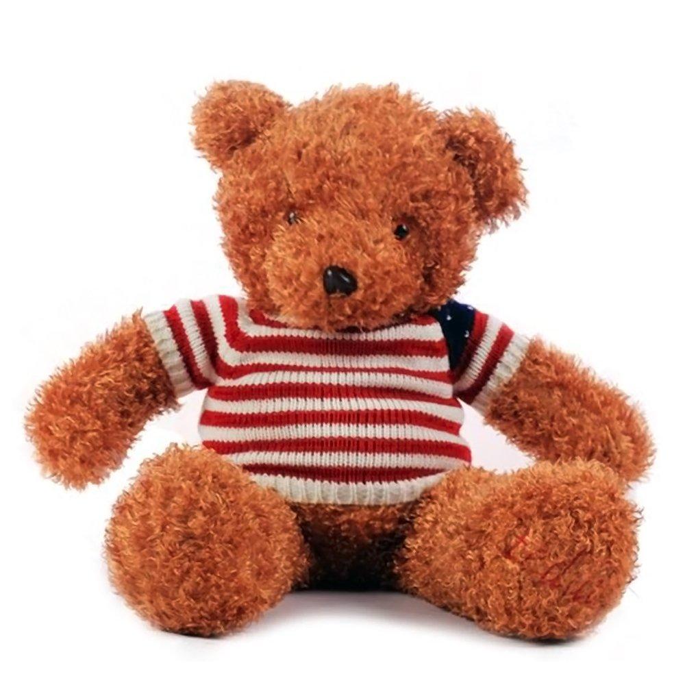 毛绒玩具可爱布娃娃珍藏版经典泰迪熊情侣公仔创意玩偶生日礼物女 (1.