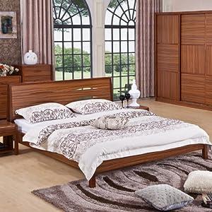 morning 早晨家居 特价新款保用十年 中式实木床1.8米