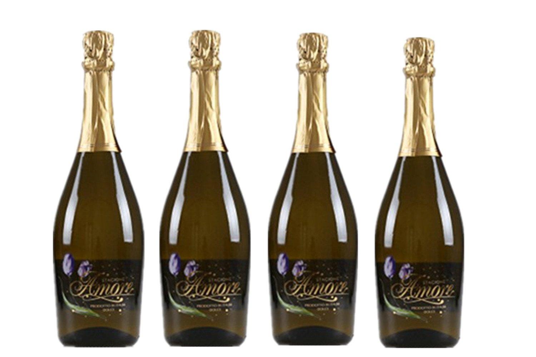 意大利原瓶进口黄金起泡甜白葡萄酒