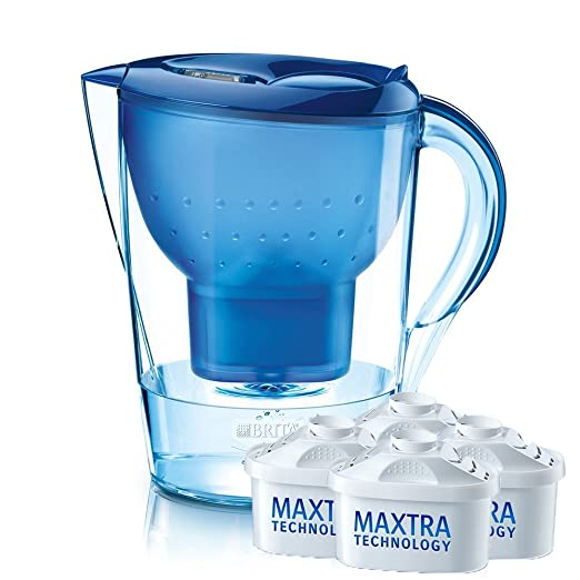 BRITA碧然德 德国碧然德滤水壶 Marella XL 3.5L 一壶四芯 ¥358-50= ¥308