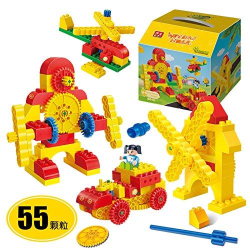 banbao 邦宝 教育系列 大颗粒 积木 益智 拼装 儿童 玩具 齿轮6543