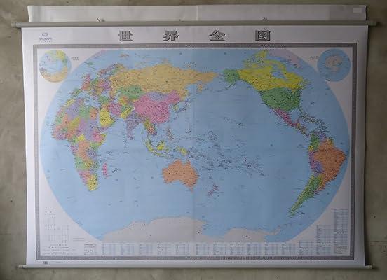 2013世界地图挂图2米 1.5米