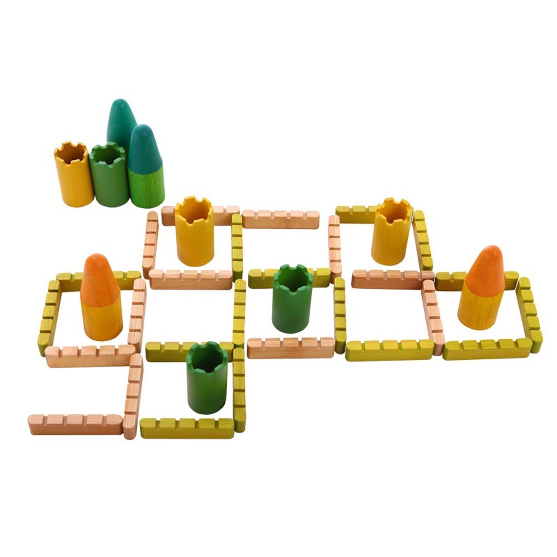 hape玩具玩具v玩具对战游戏水管pvc城堡做的竹制枪6图片