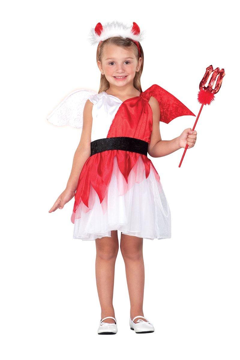 halloween 派对 创意儿童角色表演舞台服装 淘气小天使服装 a1855图片