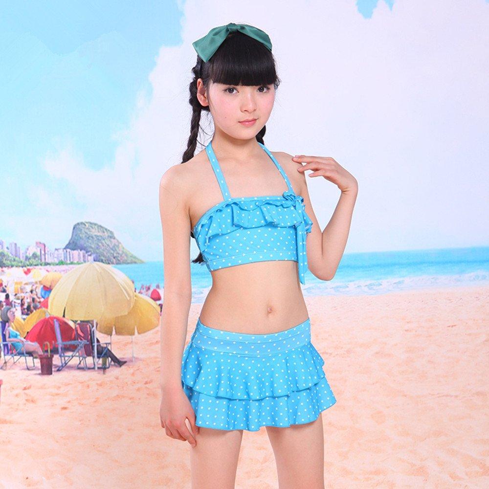 儿童泳衣 分体比基尼儿童游泳衣