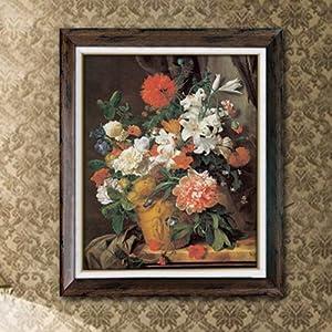 林格印象 墙画 欧式玄关壁画 进口画 芯卧室挂画 客厅