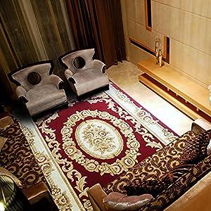 锦川 加密加厚剪花高档地毯 美式欧式中式茶几卧室客厅地毯 240×340