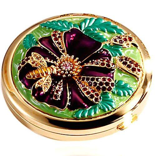 Italina-伊泰莲娜-合金镀黄金化妆镜-热带雨林材质:合金镀黄金...