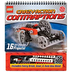 LEGO砖书 《Crazy Action Contraptions》不思议机械 启蒙书(105块积木)